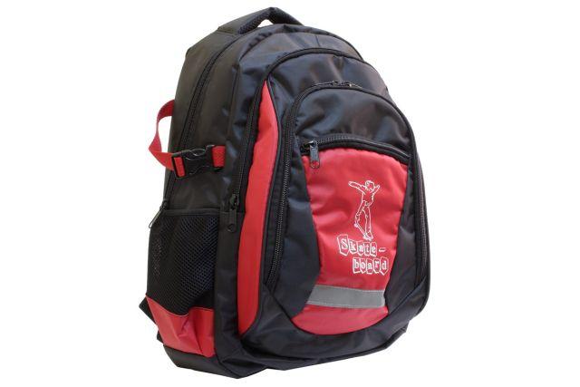 1432к рюкзак черный/красный