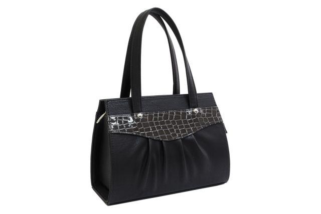 1523 сумка женская черная