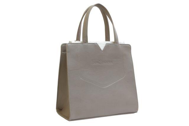 1526 сумка женская темно-бежевая
