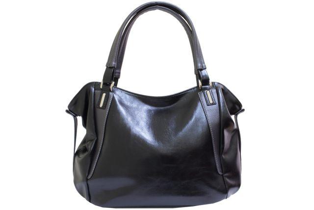 1512 сумка женская черная/серая