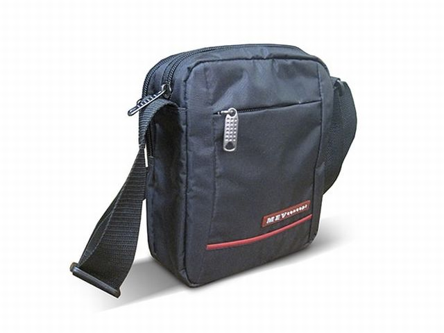 1530к сумка мужская молодежная черная