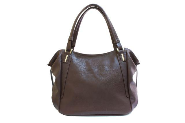 1512 сумка женская коричневая