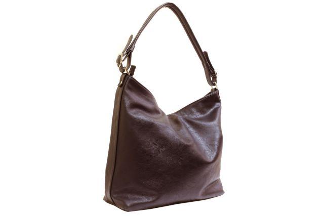1540 сумка женская коричневая