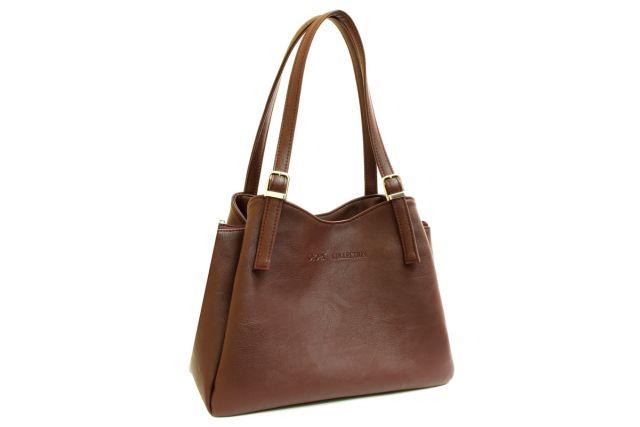 1515 сумка женская коричневая