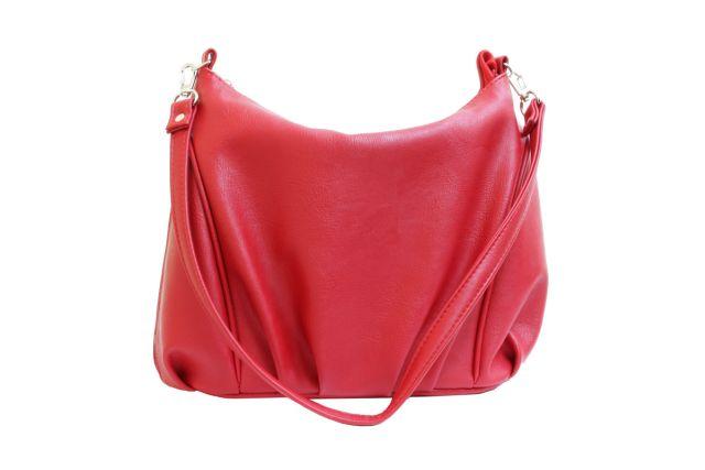 1541 сумка женская красная