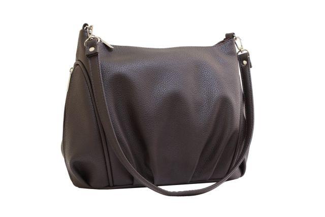 1541 сумка женская коричневая