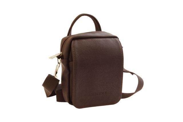1547 сумка-визитка коричневая
