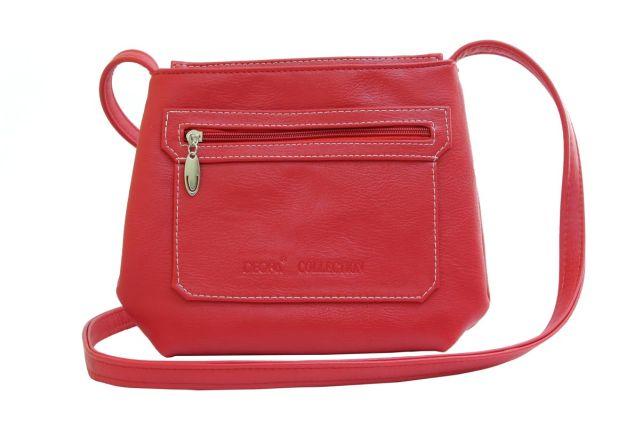 1539 сумка женская красная
