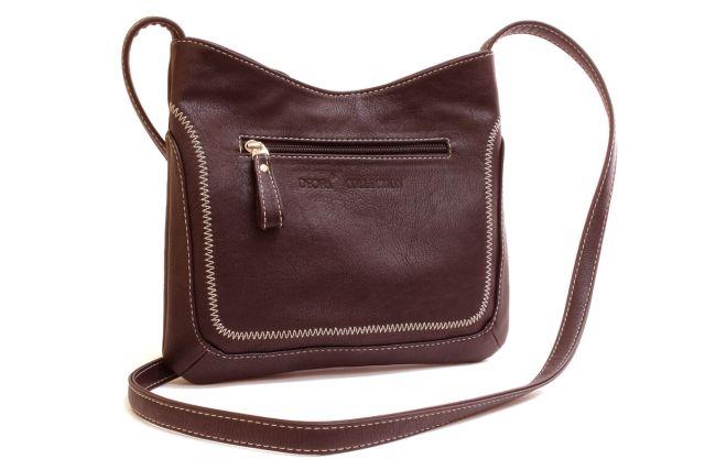 1506 сумка женская коричневая