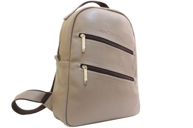1531 рюкзак темно-бежевый