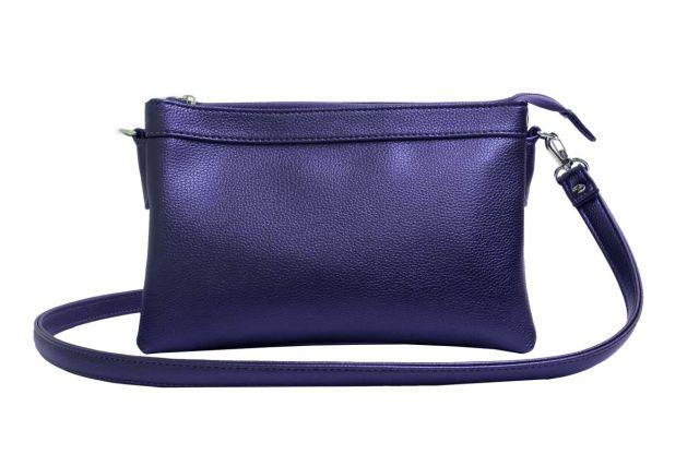 1405 сумка женская синяя
