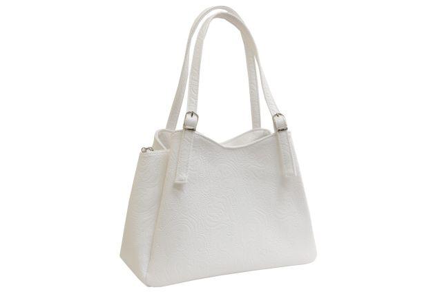 1515 сумка женская белая