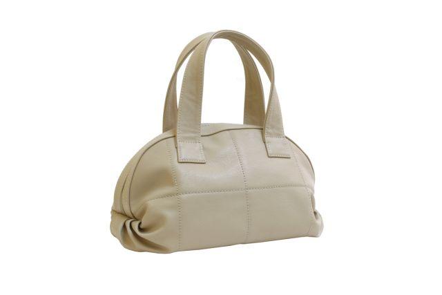 1524 сумка женская бежевая