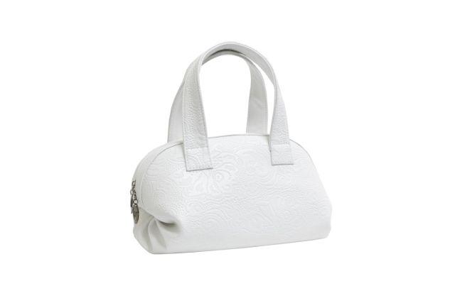 1524 сумка женская белая