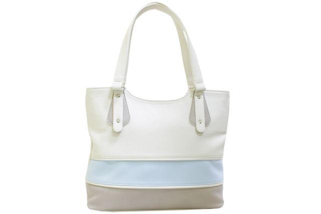 1521 сумка женская бежевая с отделкой