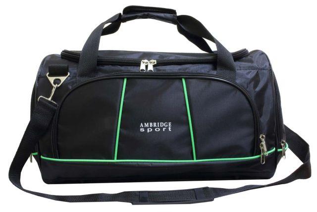 0910к сумка спортивно-дорожная черная