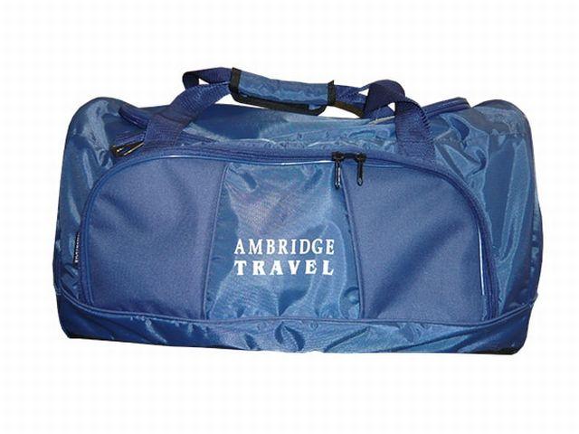0910к сумка спортивно-дорожная синяя