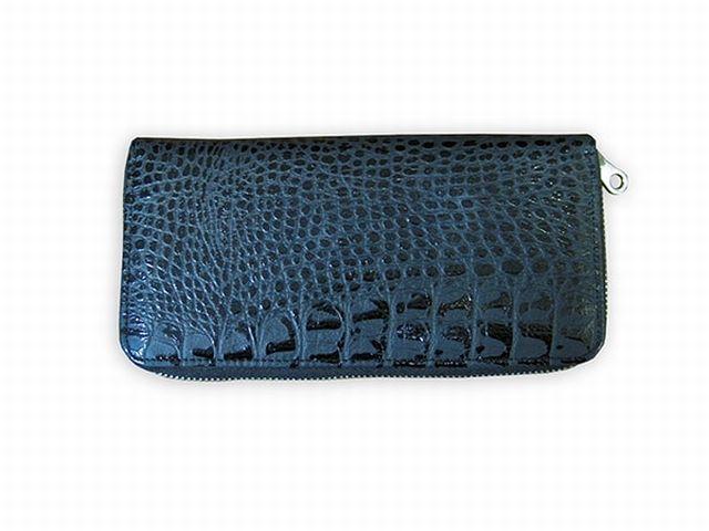1601н портмоне синий крок