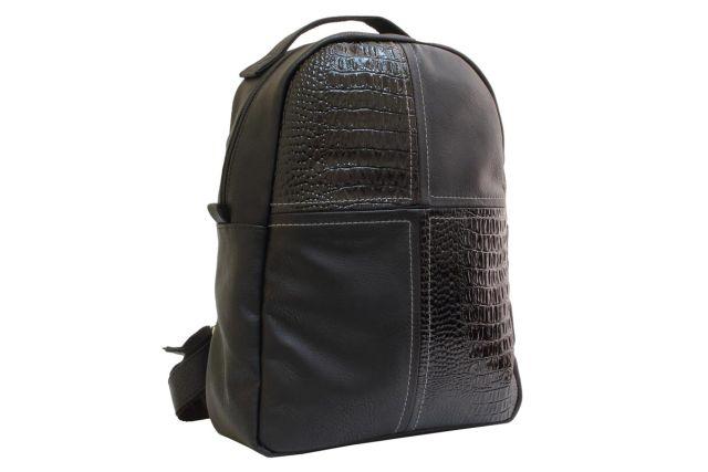 1532 рюкзак черный/черный лак