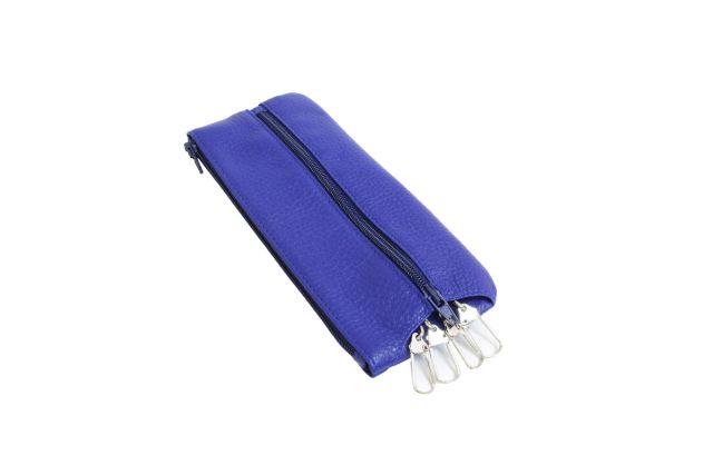 0521н футляр для ключей синий