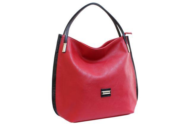 1622 сумка женская красная