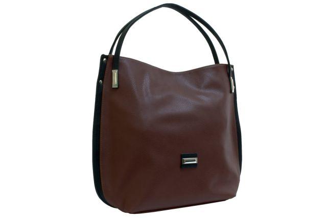 1622 сумка женская коричневая