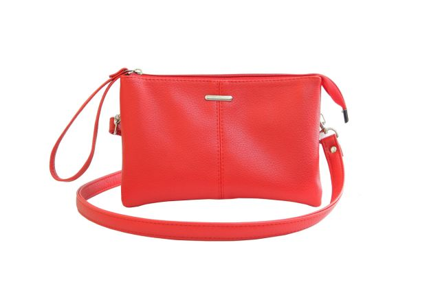 1626 сумка женская красная