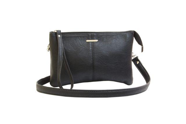 1626 сумка женская черная