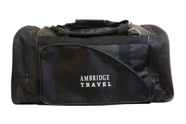 0281к сумка спортивно-дорожная черная