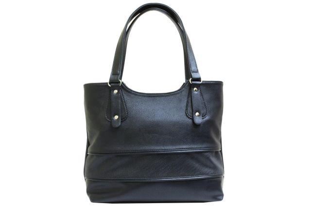 1521 сумка женская черная комбинированная