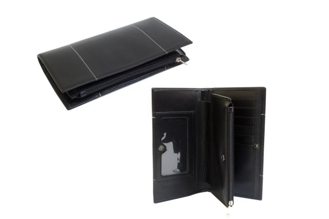 1627н портмоне черное