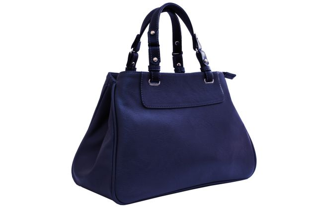 1630 сумка женская синяя