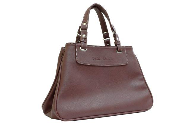 1630 сумка женская коричневая