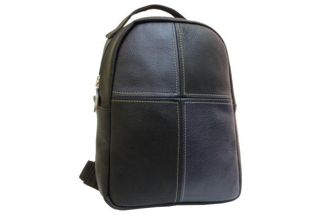 1532 рюкзак черный/синий