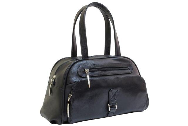 1633 сумка женская черная