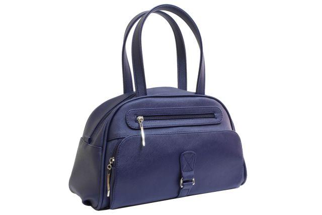 1633 сумка женская синяя