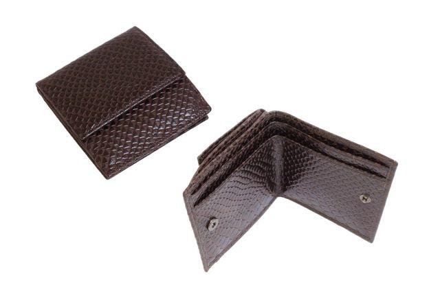 0265н портмоне крок коричневый