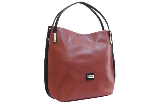 1622 сумка женская рыжая