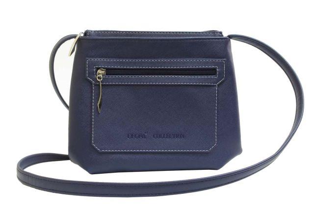 1539 сумка женская синяя