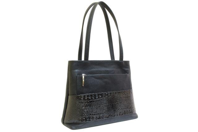 1641 сумка женская черная