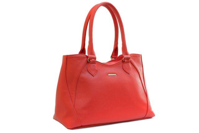 1639 сумка женская красная