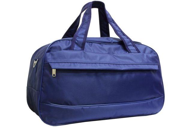 1417к сумка дорожная синяя