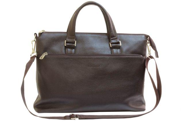 1705н сумка мужская коричневая
