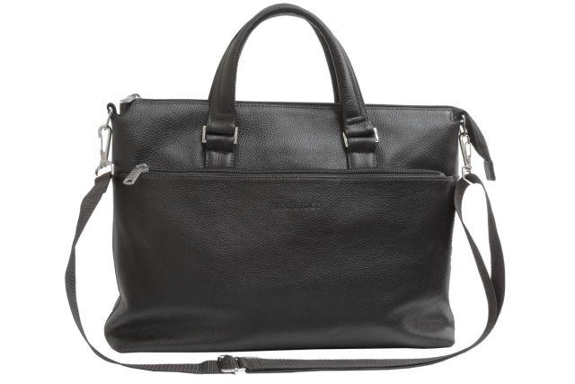 1705н сумка мужская черная