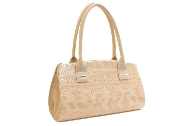 1519 сумка женская бежевый лак