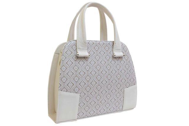 1634 сумка женская бежевая