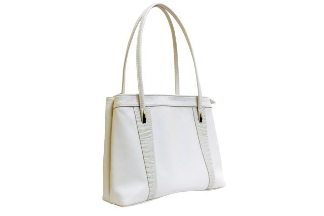 1623 сумка женская бежевая