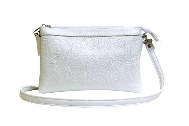 1405 сумка женская белая