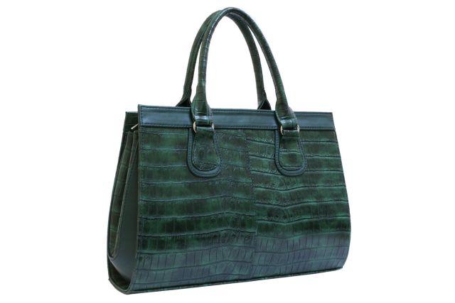 1214 сумка женская зеленая