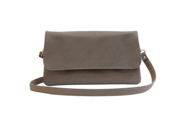 0954 сумка женская серая